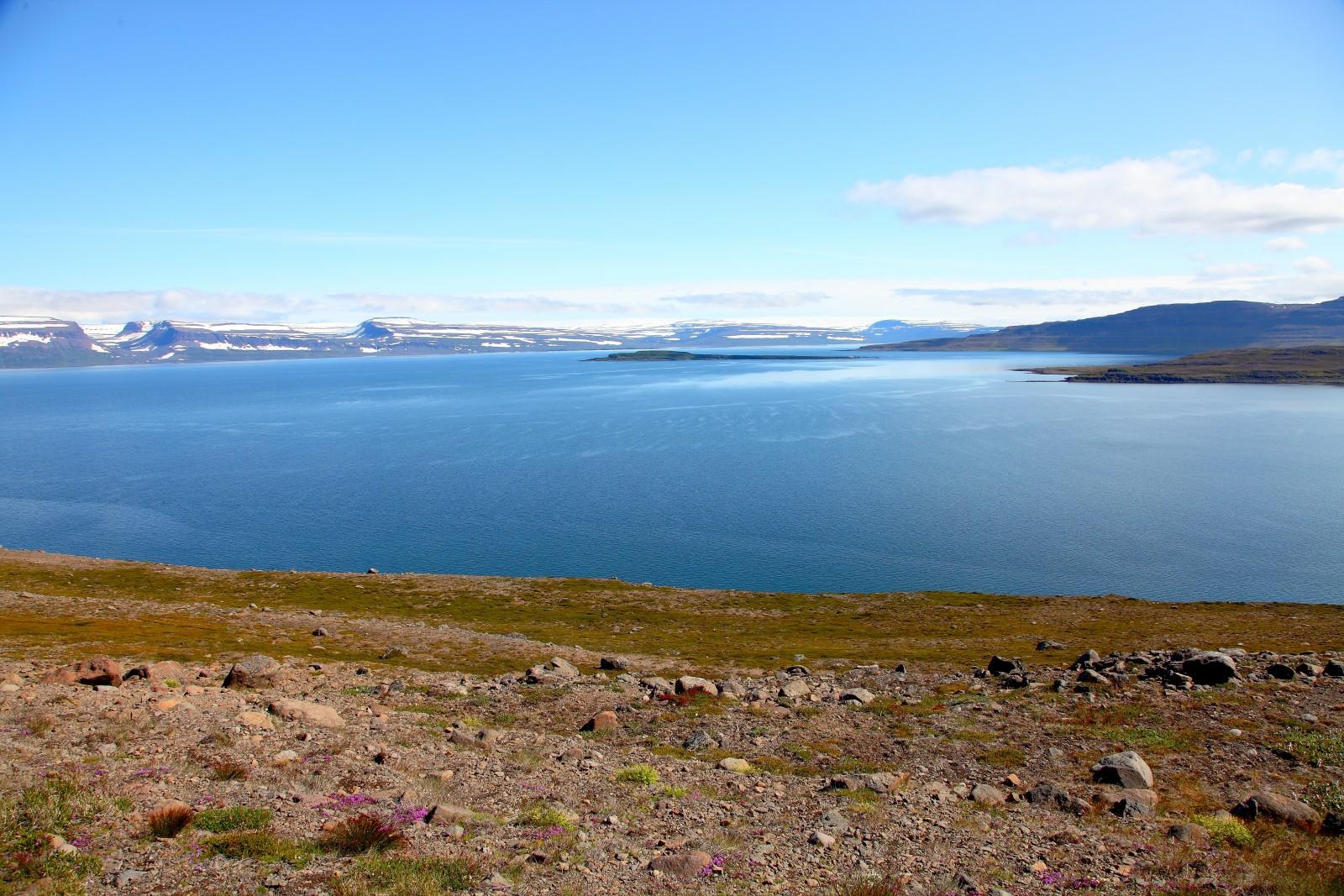 Le large fjord Ísafjarðardjúp