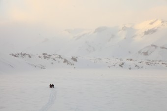 Landmannalaugar, l'hiver en raquettes