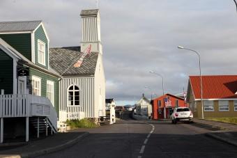 Une rue de Stykkisholmur